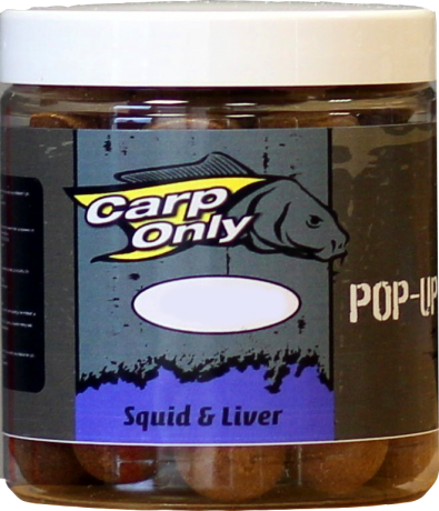 CarpOnly PopUps Squid&Liver