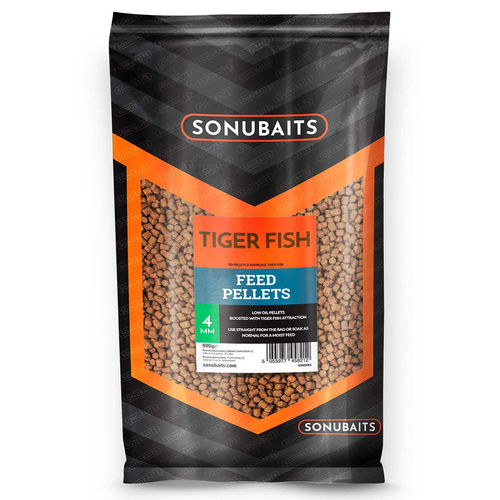 Sonubaits Feed Pellets 900g/4mm TIGER FISH