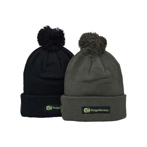 RidgeMonkey Bobble Hat black