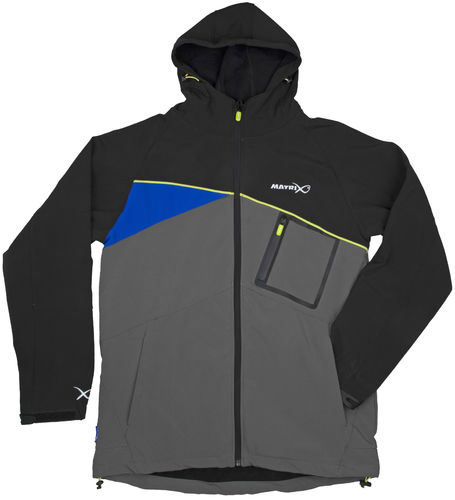 Matrix Soft Shell Jacket black/grey
