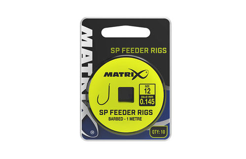 Matrix 1m SP Feeder Rigs Size 12/0.145