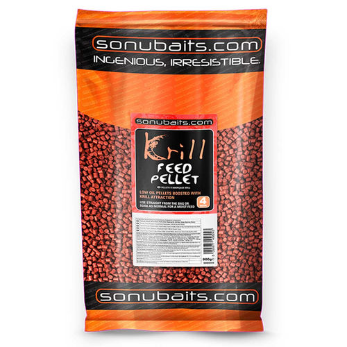 Sonubaits Feed Pellets 900g/4mm KRILL
