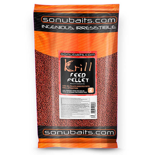 Sonubaits Feed Pellets 900g/2mm KRILL