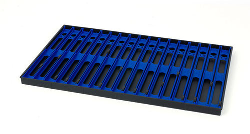 Matrix Loaded Pole Winder Tray 26cm (17 Pack) Dark Blue