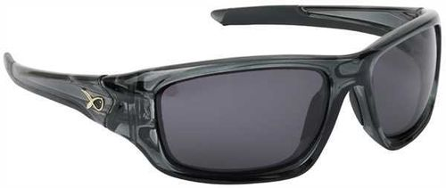 Matrix TRANS BLACK WRAPS/GREY LENSE POLARISED SUNGLASSES