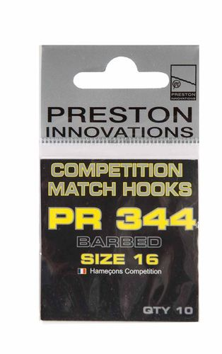 Preston Competition Hooks PR 344