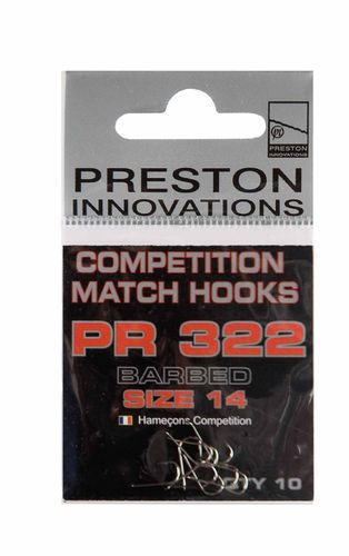 Preston Competition Hooks PR 322
