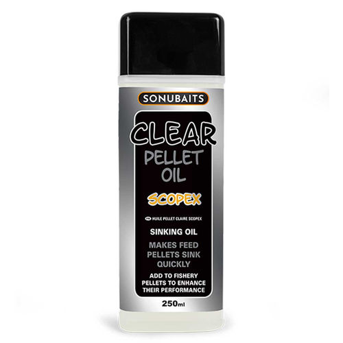 Sonubaits Clear Pellet Oil 250ml scopex