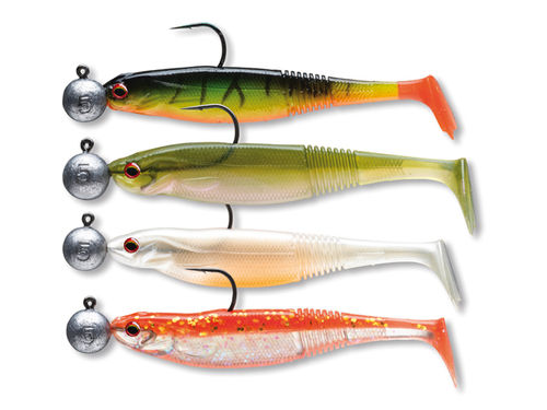 "Daiwa PROREX ""READY TO FISH"" CLASSIC SHAD SET  Zielfisch Barsch Set 1"