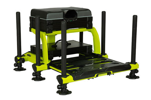 Matrix XR36 Pro Lime Seatbox ( inc 1x shallow trays & lid + deep drawer)