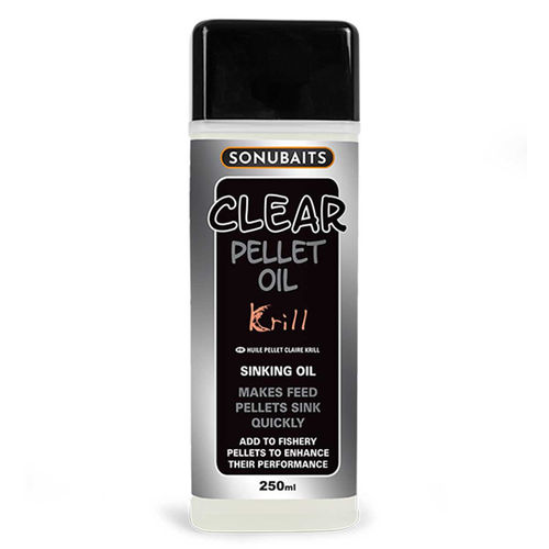 Sonubaits Clear Pellet Oil 250ml Krill