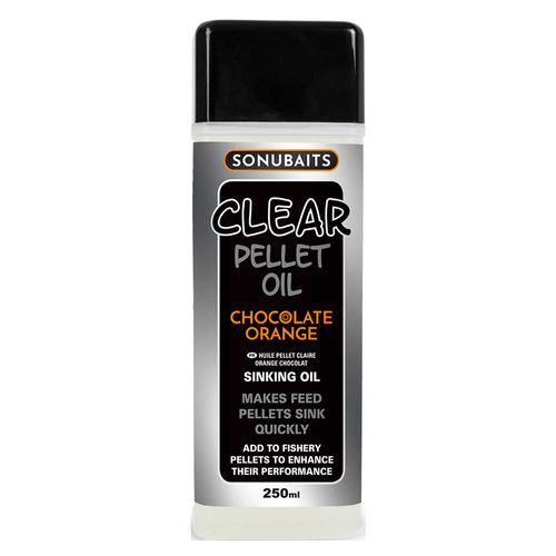 Sonubaits Clear Pellet Oil 250ml Chocolate/Orange