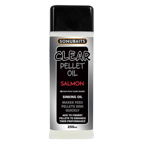 Sonubaits Clear Pellet Oil 250ml Salmon