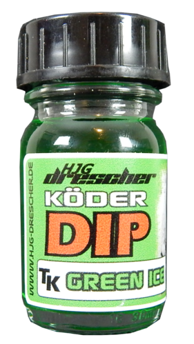 HJG Drescher TK Feeder Dip Green Ice 30ml