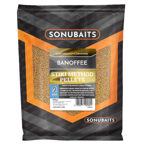 Sonubaits Stiki Banofee Method Pellets 650g/2mm