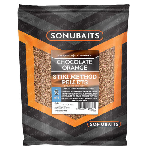 Sonubaits Stiki Chocolate Orange Method Pellets 650g/2mm