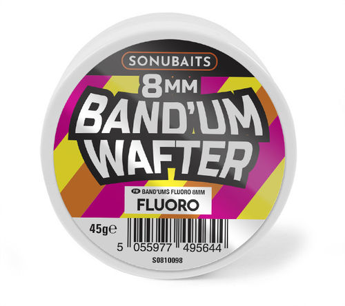 Sonubaits BAND´UM Wafters FLUORO 8mm